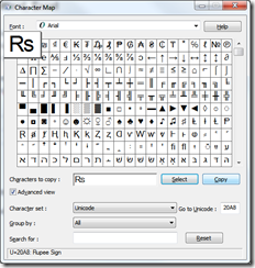how to install new rupee symbol in excel 2007